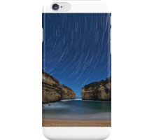 Star trails over Lochard Gorge, Australia. iPhone Case/Skin