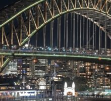 Harbour Bridge 1 Vivid 2016 Sticker