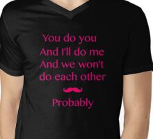 A Beautiful Poem Right There Mens V-Neck T-Shirt