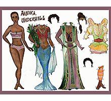 Annika, Underhill Paper Doll Photographic Print
