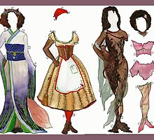 Annika, Underhill Paper Doll, page 2 by neuroticowl
