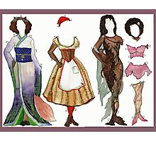 Annika, Underhill Paper Doll, page 2 Photographic Print