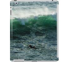 Emerald California Surfing - La Jolla, San Diego, California iPad Case/Skin