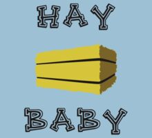 Hay Baby One Piece - Short Sleeve