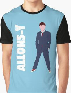 Doctor Who - Allons-y  Graphic T-Shirt
