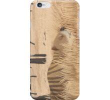 Thylacoleo carnifex - marsupial lion iPhone Case/Skin