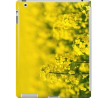 rape yellow sky blue iPad Case/Skin