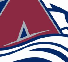 Colorado Broncos - Denver Avalanche Sticker