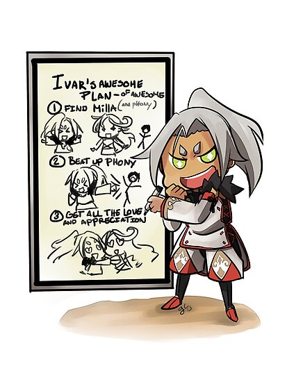 Ivar's plan of AWESOME by t3hb33