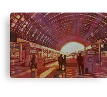 Dawn at the Station Canvas Print