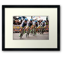 Greenedge  Framed Print