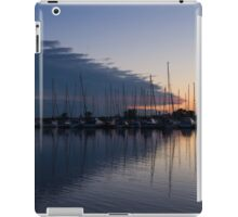 The Urge to Sail Away - Violet Sky Reflecting in Lake Ontario in Toronto, Canada iPad Case/Skin