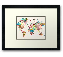 Be An Explorer Of The World Framed Print