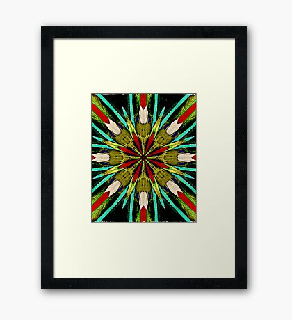 Bows and Arrows Framed Print