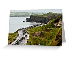 Giro D'Italia - Ireland Greeting Card
