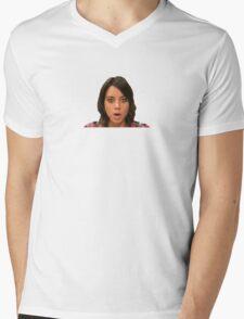 April Ludgate Mens V-Neck T-Shirt