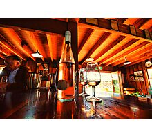 Wine tasting at Pepper Tree Photographic Print