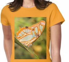 Malachite Butterfly (Siproeta stelenes) Womens Fitted T-Shirt