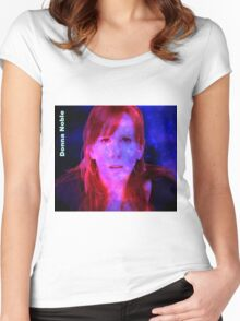 Donna Noble Women's Fitted Scoop T-Shirt