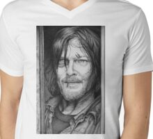 Daryl Dixon Mens V-Neck T-Shirt