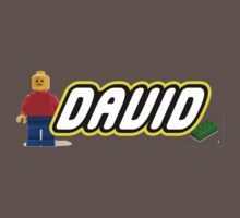 Personalized Lego Clothing - David Baby Tee