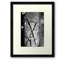 Mr. X Framed Print
