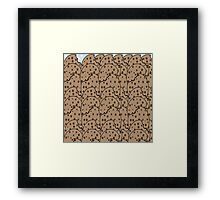 Cookie Overload Framed Print