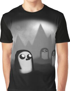 Evil Penguin Graphic T-Shirt