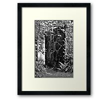 Flower Wall No.2 Framed Print