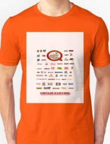 QVHK Vintage Karting Brands Unisex T-Shirt