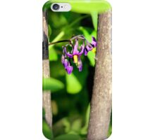 Climbing Nightshade in the Sunshine iPhone Case/Skin