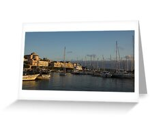 Sailing Out Of Syracuse, Sicily  Greeting Card