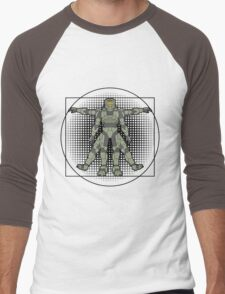 Vitruvian Spartan Men's Baseball ¾ T-Shirt