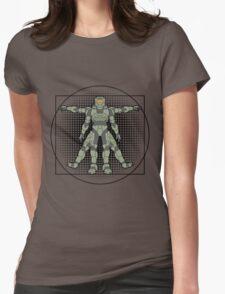Vitruvian Spartan Womens Fitted T-Shirt
