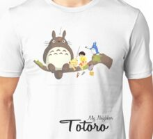 My Neighbor Totoro (With Text) Unisex T-Shirt