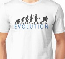 Funny Ice Hockey Evolution Of Man T Shirt Unisex T-Shirt