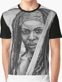 Michonne Graphic T-Shirt