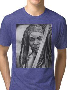 Michonne Tri-blend T-Shirt