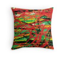 Dragons in the Forest Throw Pillow