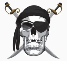 Skull and Swords Kids Clothes