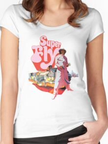 Superfly Women's Fitted Scoop T-Shirt