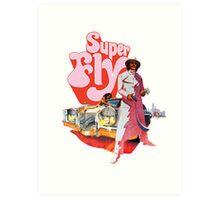 Superfly Art Print