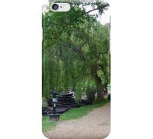 Weeping Willow, English Countryside iPhone Case/Skin