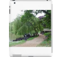 Weeping Willow, English Countryside iPad Case/Skin