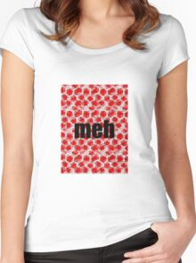 Meh Mosaic Women's Fitted Scoop T-Shirt