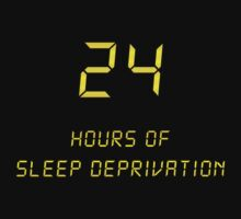 24 Hours of Sleep Deprivation by Jonathan Lynch