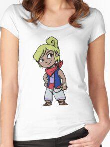 The Legend of Zelda: Tetra Women's Fitted Scoop T-Shirt