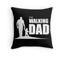 The Walking Dad Throw Pillow