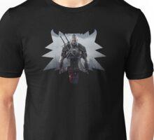 Wolf Medallion - Geralt of Rivia - Two Swords Unisex T-Shirt