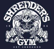 Shredder's Gym Baby Tee
